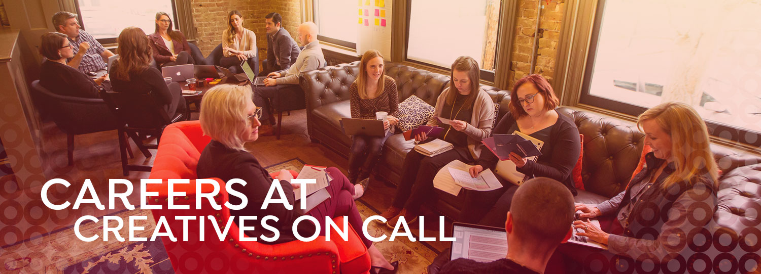 Careers at Creatives On Call