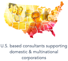 U.S. based consultans supporting domestic & multinational corporations