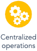 centralized operations