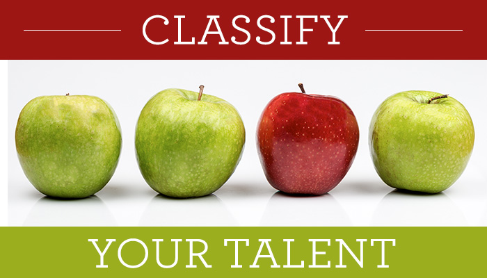 Classify Your Talent