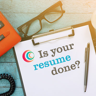 How do you know when your resume is done? (At least for now…)