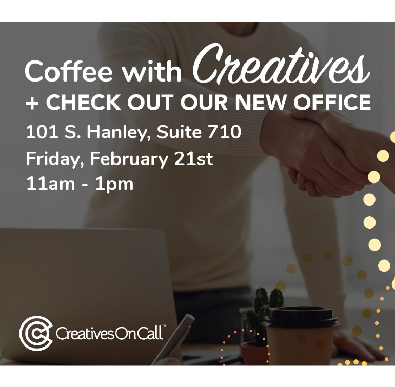 Coffee With Creatives + New Office Tour