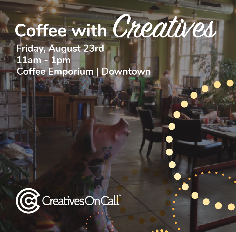 August Coffee With Creatives